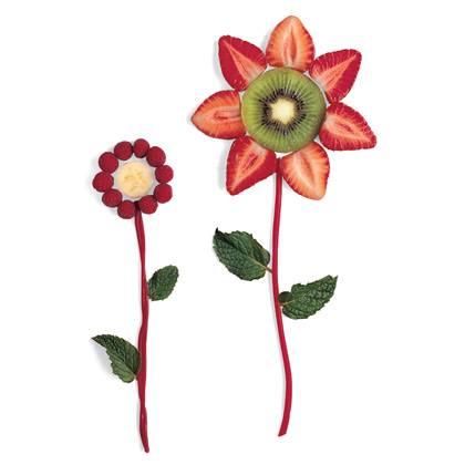 Fruit Flowers Recipe