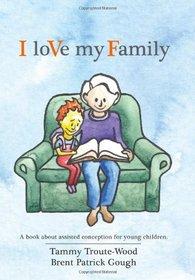 I love my love book