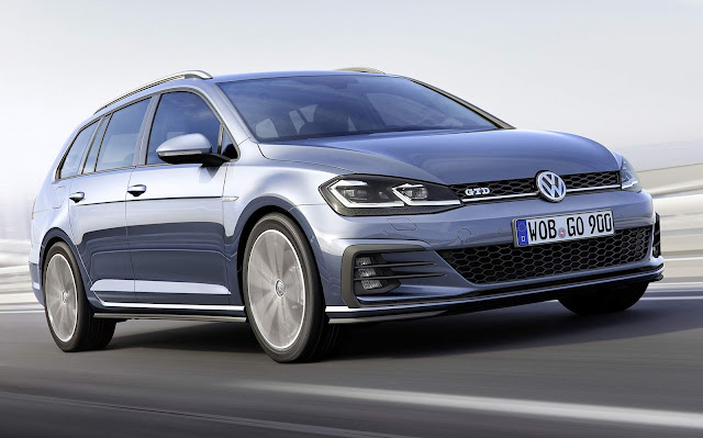 VW Golf Variant 2018 GTD