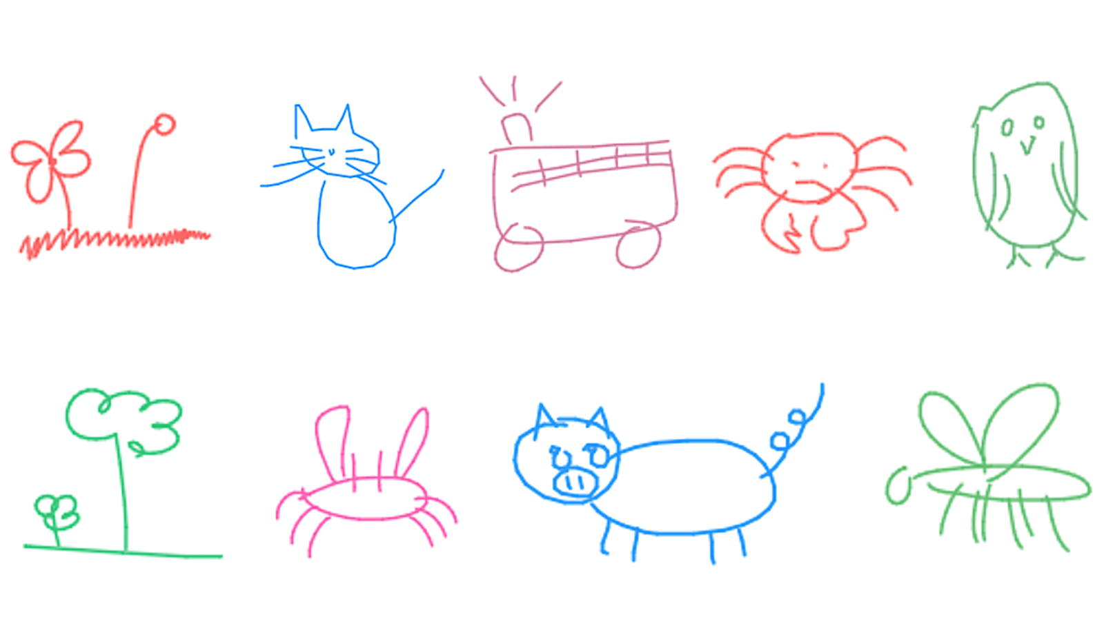 How to learn to draw machines