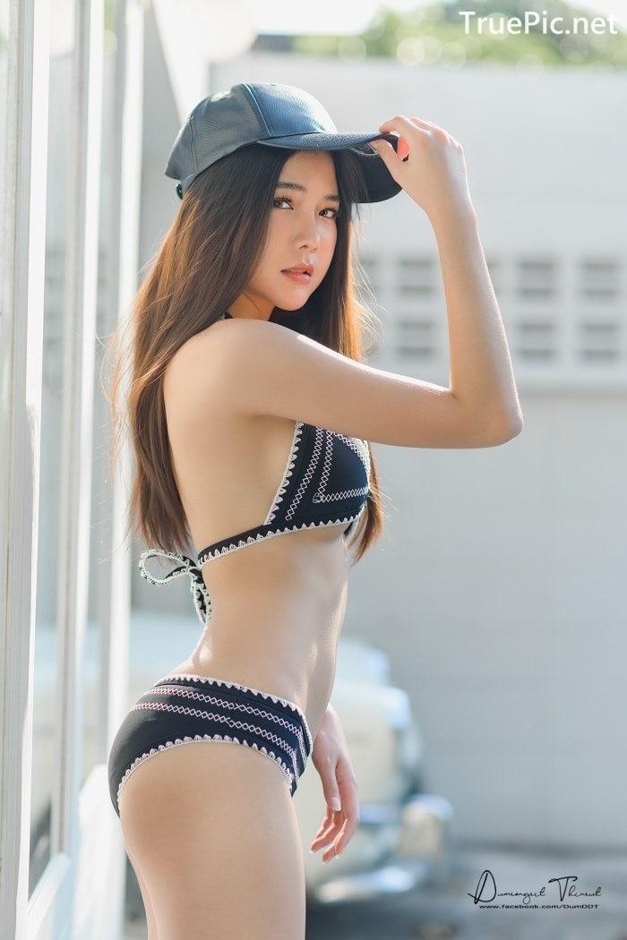 Image Thailand Model - Phitchamol Srijantanet - Triangle Bikini Tops - TruePic.net - Picture-5