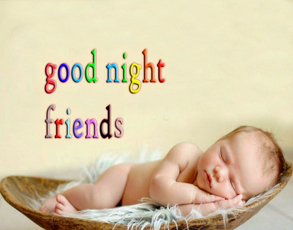 Good Night Baby Photos for Friends