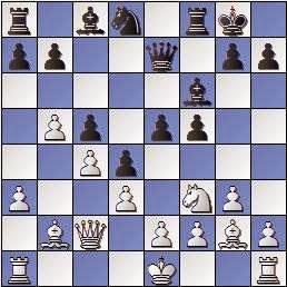 Partida de ajedrez Bordell vs. Polugaievsky 1956, posición después de 14…c5