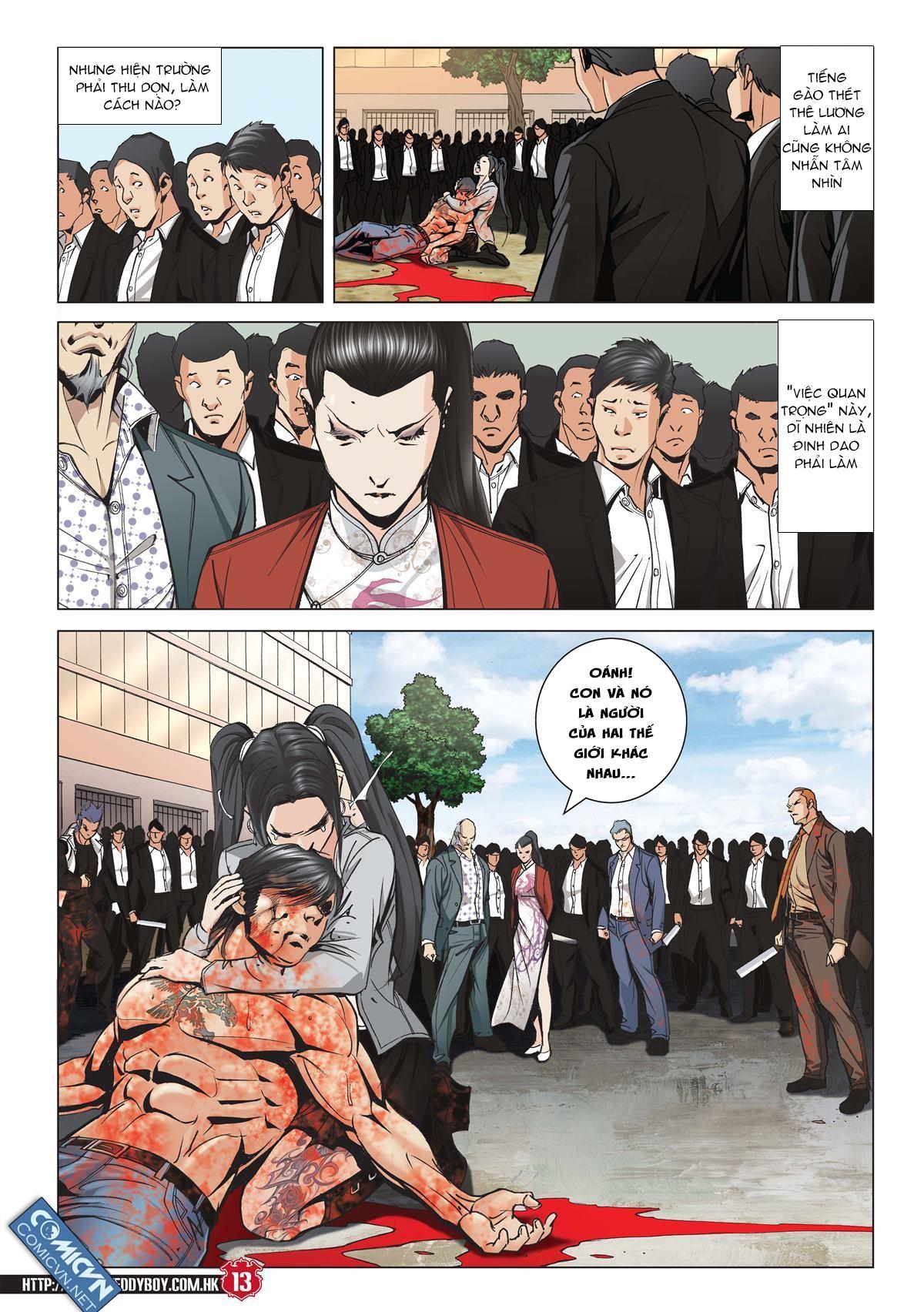 Người Trong Giang Hồ chapter 2001: tự tận trang 12