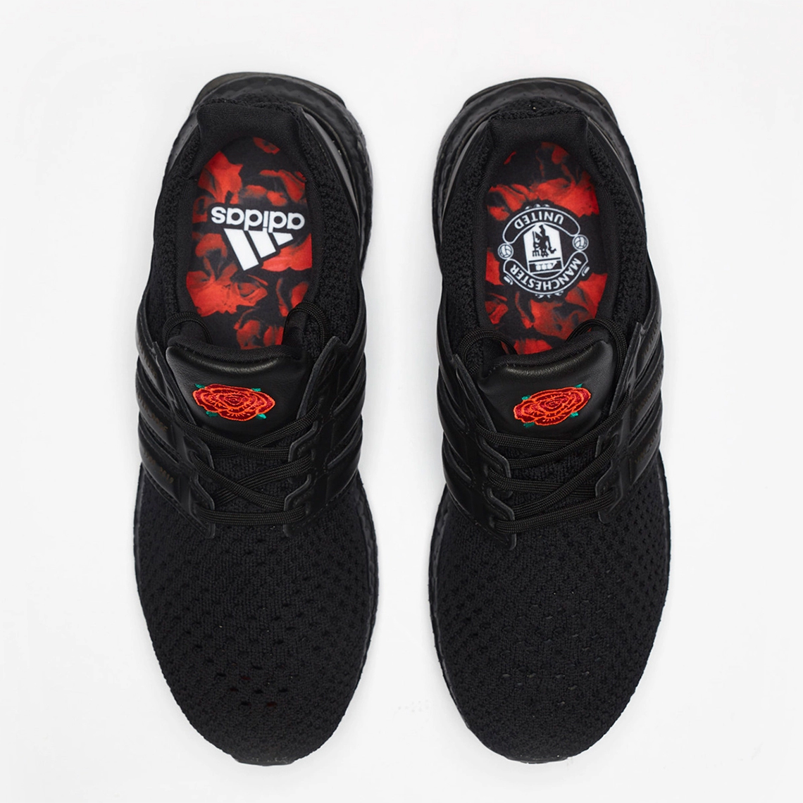 Third Kit Inspired Limited Edition Manchester United Adidas Ultraboost Red Rose Released Footy Headlines