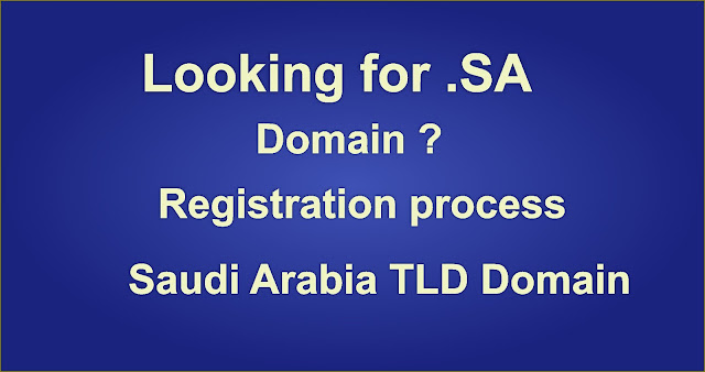 SA Domain Registration process KSA