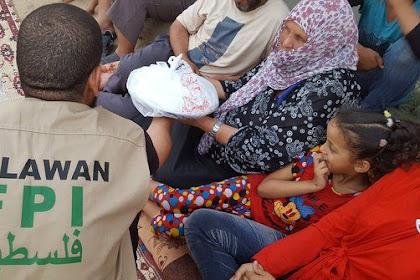 Tak Disangka... Aksi FPI di Jalur Gaza Ini Bikin Warga Terharu, Ini Yang Dilakukan