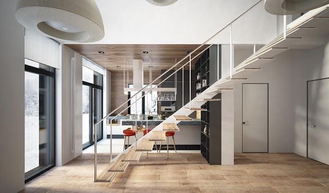 staircase beam design