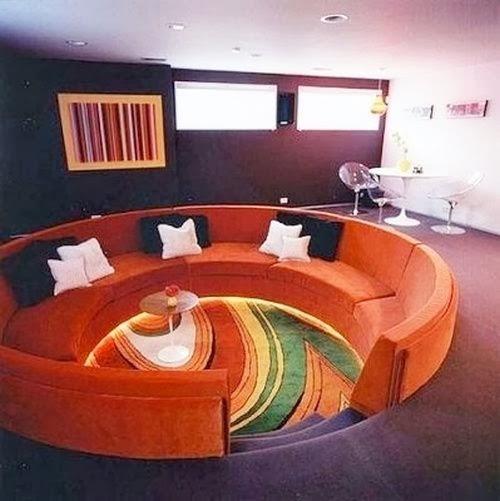 1960s Decor: Moon To Moon: Conversation Pits
