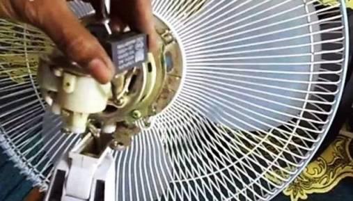 Cara Perbaiki Kipas Angin Putaran Lambat Atau Mati Total Tidak Berputar