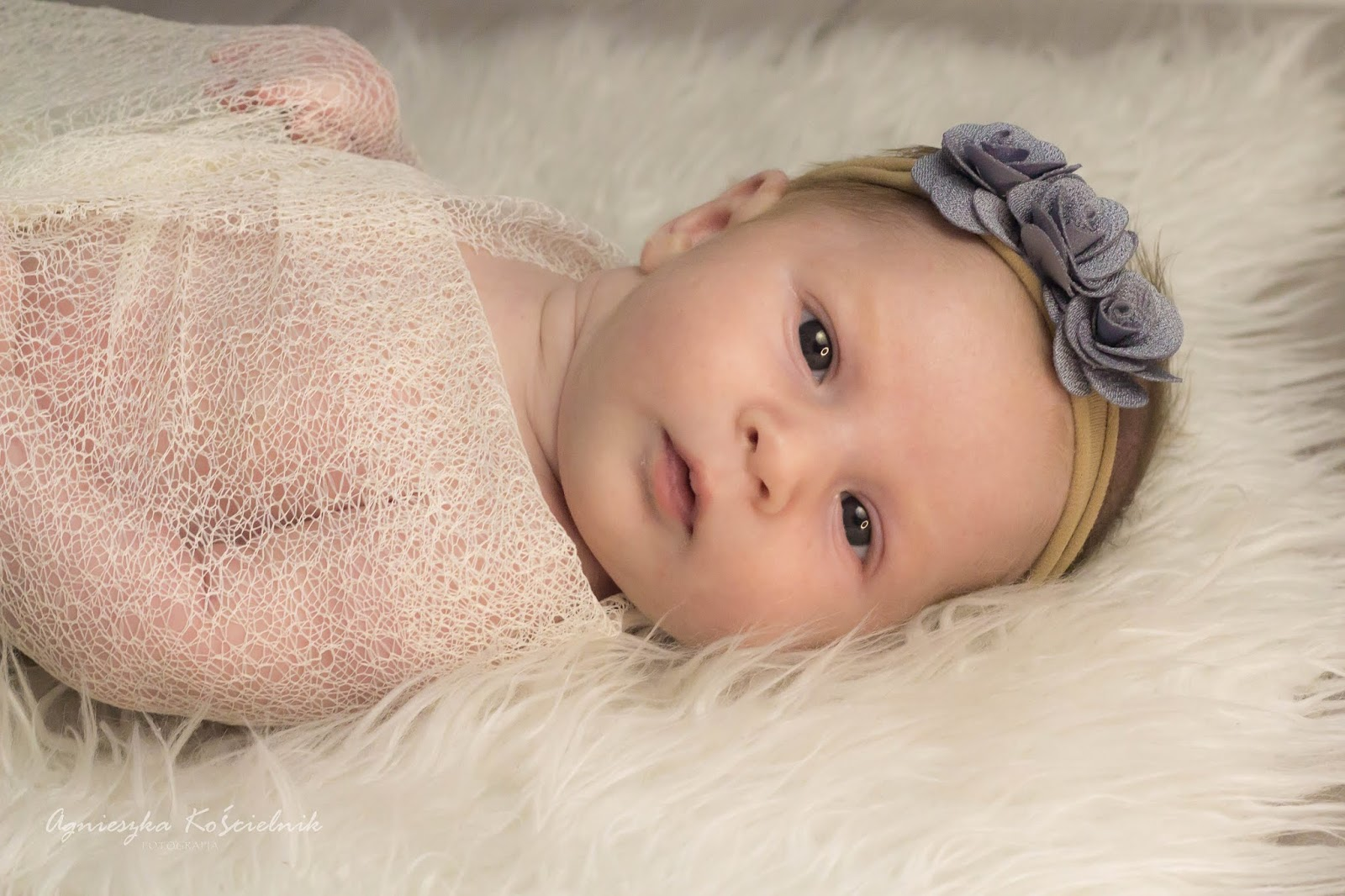 Sesja niemowlęca - Zuzia