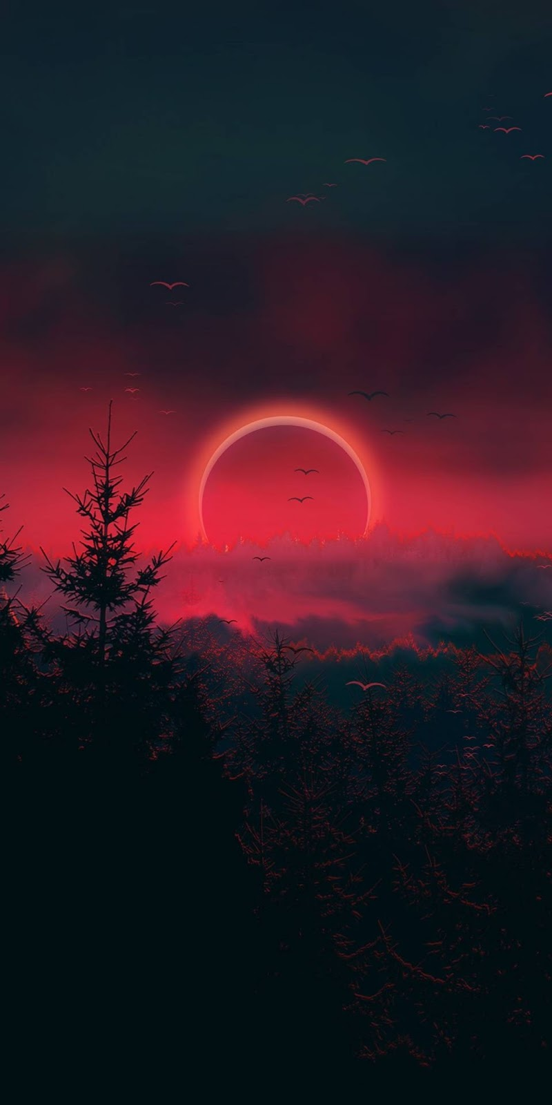 Eclipse sky