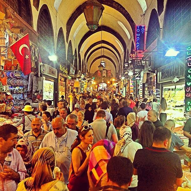 السوق المصرى | اسطنبول | بازرات واسواق