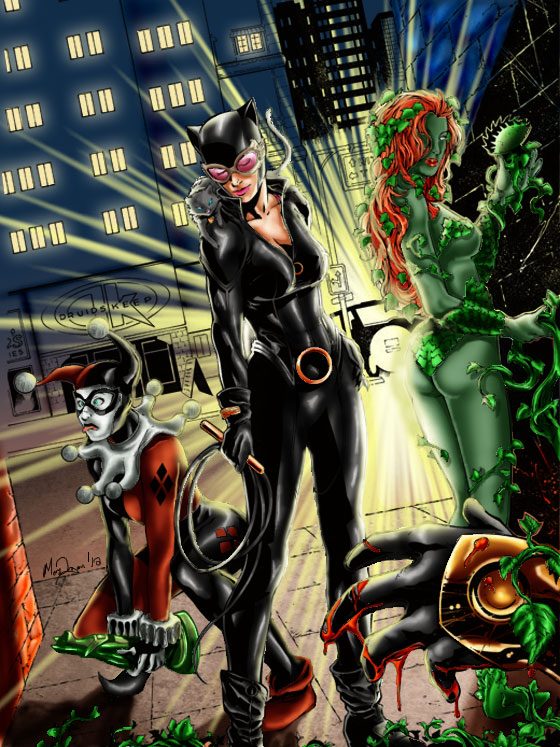 Toronto Cat Woman Quot Gotham City Sirens Quot Nina Dobrev As