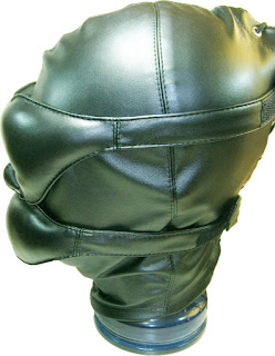 Espressivo Club Bondage Leather Hood