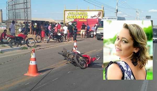 Vendedora morre após colisão entre duas motos em Iguatu