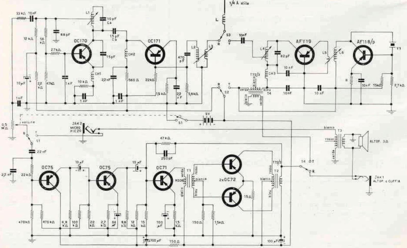 esquemas projetos eletr u00f4nicos   walkie talkie 27 ou 28 mhz