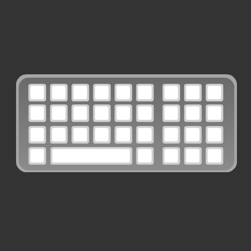 Computer Keyboard Icon Free only on Vector Icons Download