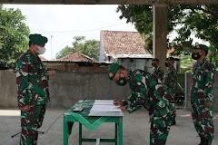 Komandan Kodim 0736/Batang Memimpin Langsung Sertijab Danramil Dan Melepas Satu Perwira Pindah Satuan