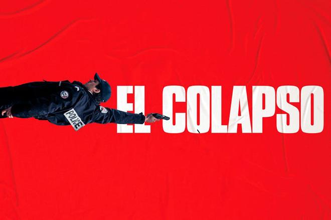 El colapso póster