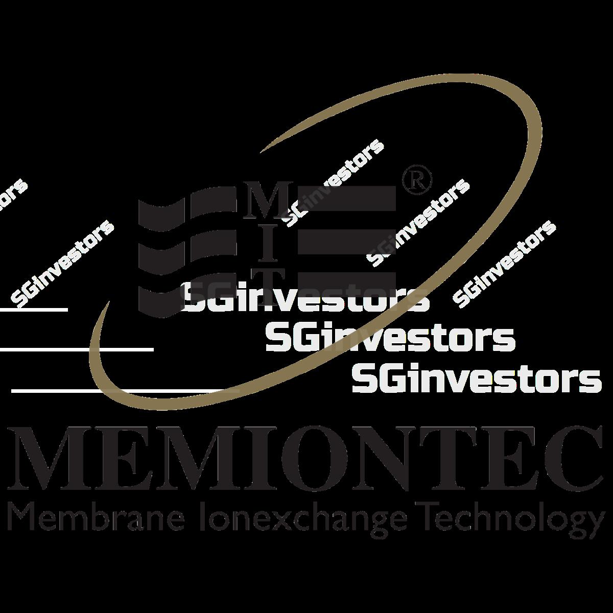 MEMIONTEC HOLDINGS LTD. (SGX:SYM) @ SGinvestors.io