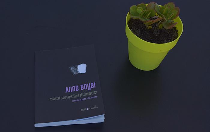 Anne Boyer en Kriller 71 Ediciones, traducido por Adalber Salas Hernández