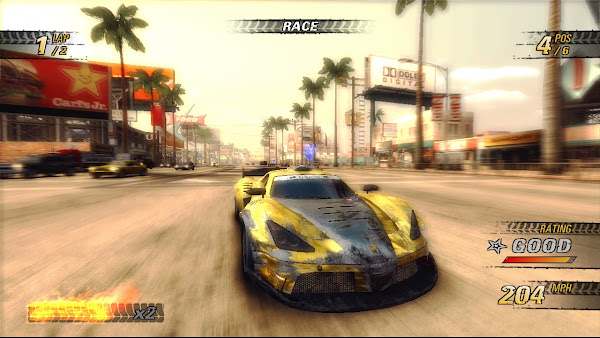 Burnout Revenge (Jtag/RGH + DLC) XBOX 360 Screenshots #1