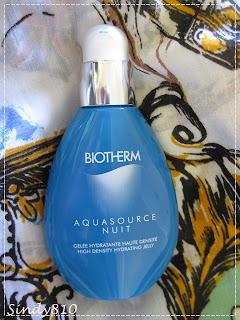 1支能代替精華和面霜的強效保濕產品 - BIOTHERM AQUASOURCE NUIT 冰海保濕晚間凝露 .. ...