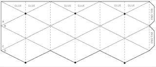 Sweet image inside flextangle printable