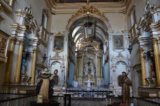 vista interna igreja São Domingos, Salvador
