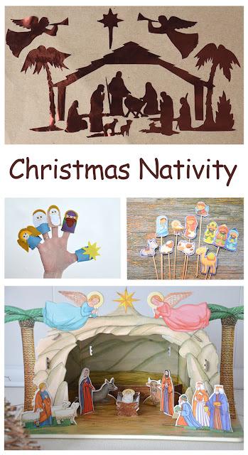 Рождественский вертеп своими руками. Рождественская история для детей. Christmas Nativity DIY. Новогодние поделки.