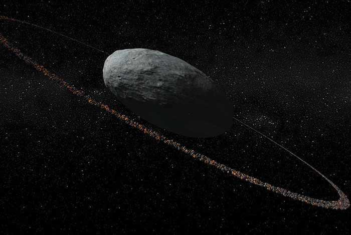 Cincin Planet Haumea