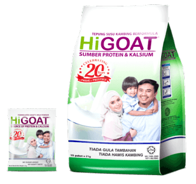 khasiat susu kambing higoat cara minum