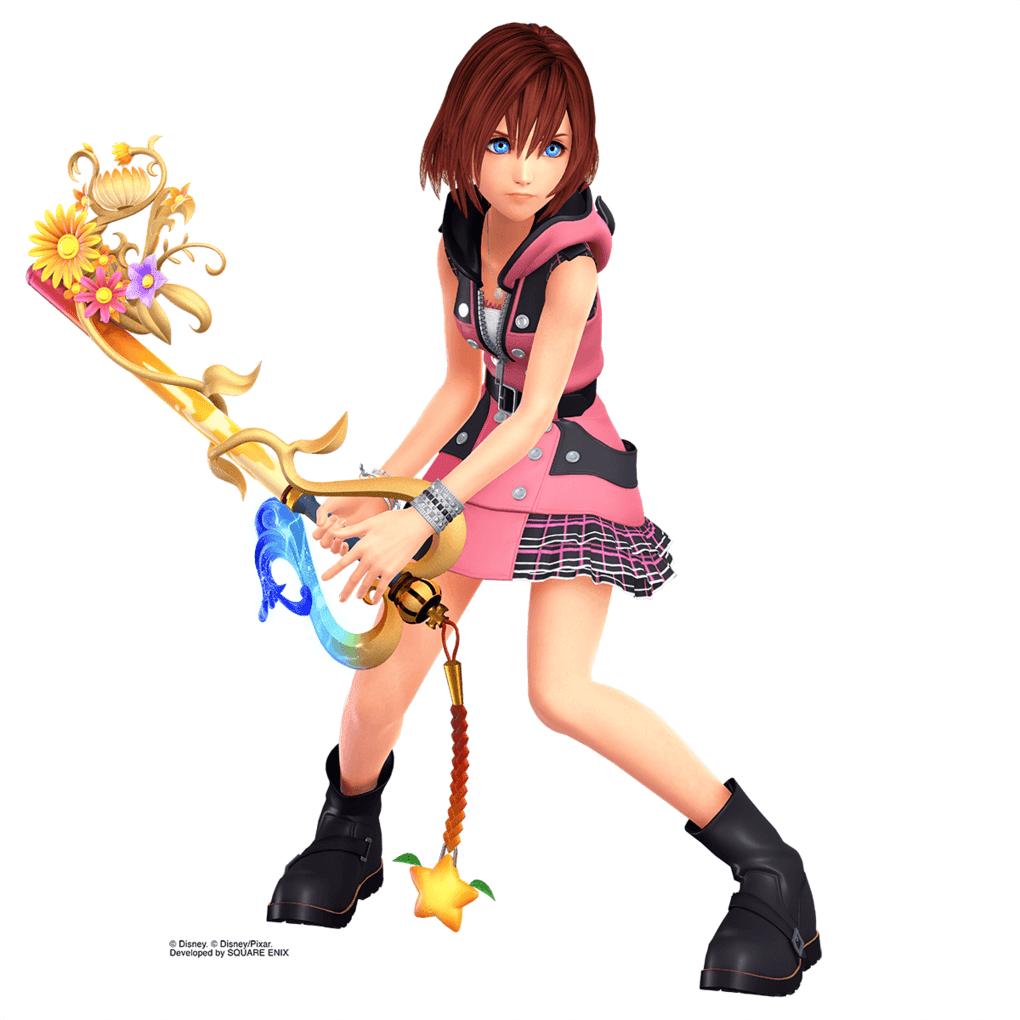 New Artworks Of Kairi For The Kingdom Hearts III Revealed