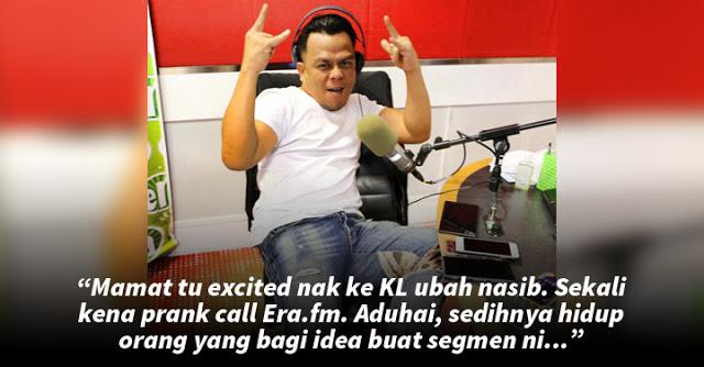Tauke Raja Lawak Dikecam Netizen Gara-Gara 'Prank Call'