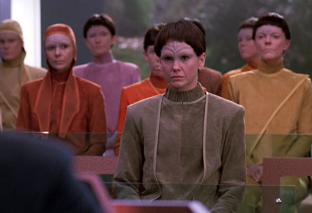 Soren - Character in Star Trek The Next Generation's The Outcast