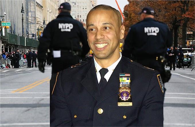 El dominicano Fausto Pichardo nombrado jefe de patrulleros de la policía de Nueva York