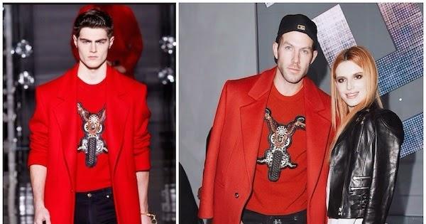 What's he wearing?: Johnny Wujek in Versace - Milan ...