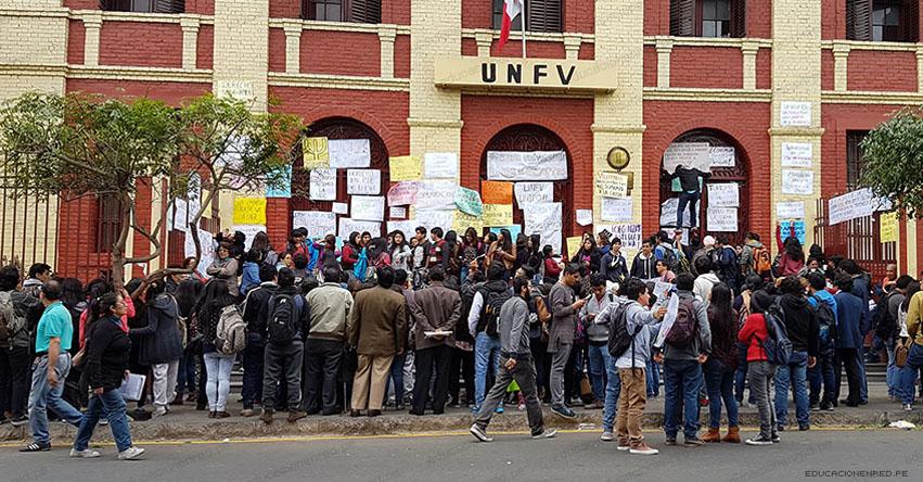 UNFV 2020: Examen de Admisión a la Universidad Federico Villarreal será presencial - www.unfv.edu.pe