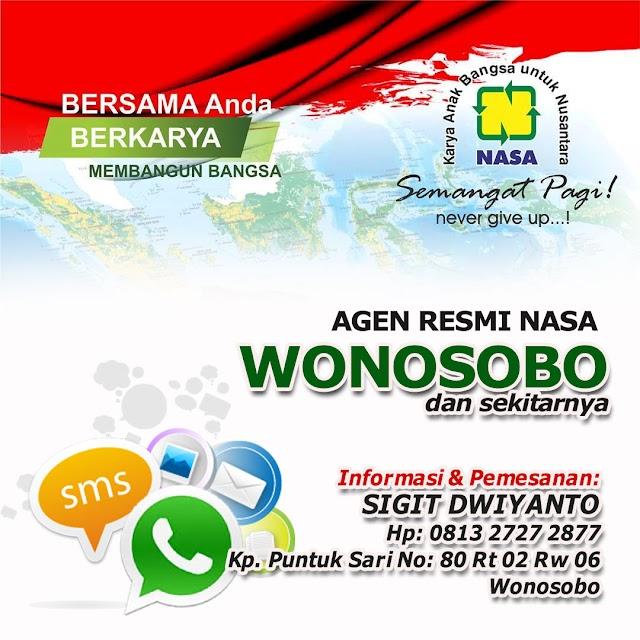 Agen Resmi NASA Wonosobo - Jual Produk NASA 081327272877