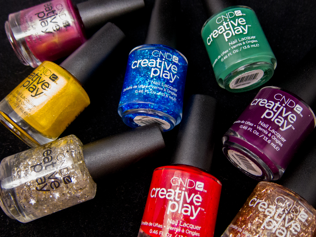 CND Creative Play Celebration Collection @chalkboardnails