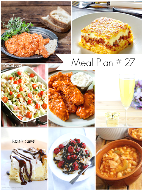 Ioanna's Notebook - Weekly Meal Plan # 27