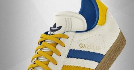 adidas bianche gazzelle