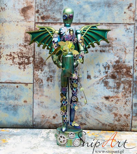 Manekin Altered Art
