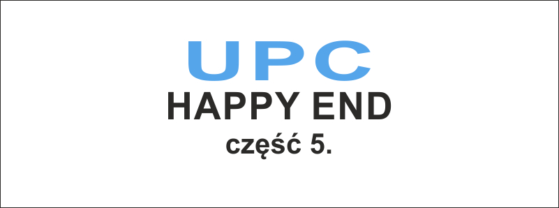 UPC - happy end