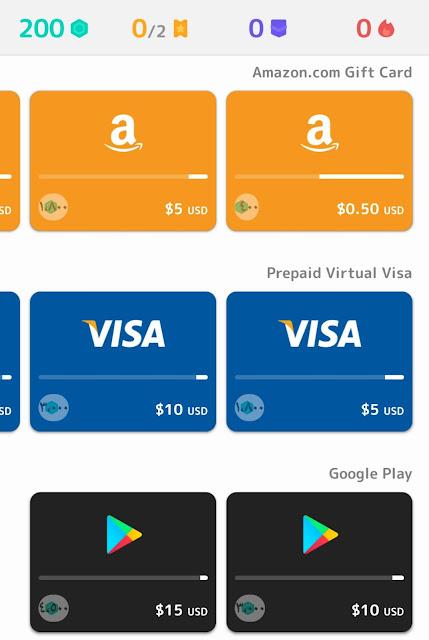 ربح بطاقة جوجل بلاي - ربح بطاقة ايتونز - ربح بطاقة امازون - الربح من الانترنت
