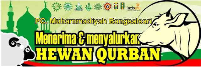 Panitia Qurban PCM Bangsalsari