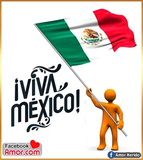bandera México viva