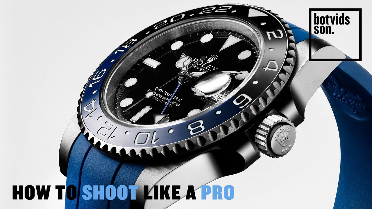 Luxury Watch Photography - All Secrets Revealed!