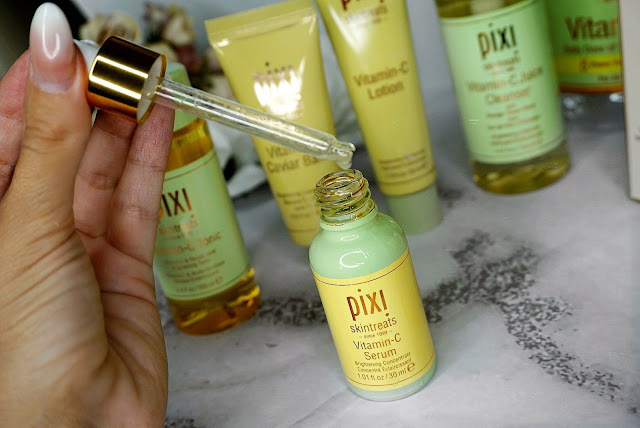 VITAMIN C COLLECTION SKIN TREATS REVIEW BY PIXI BEAUTY